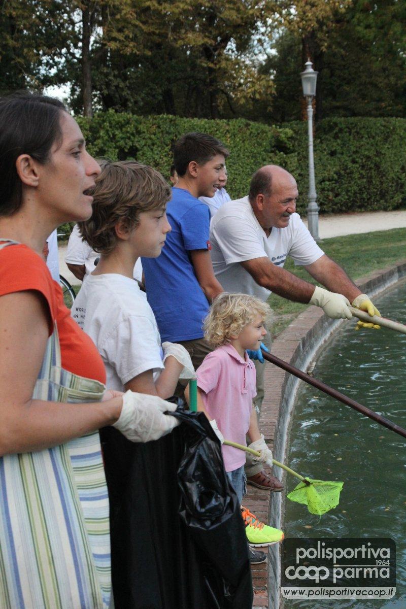 Polisportiva coop parma news a proposito della for Pulizia laghetto